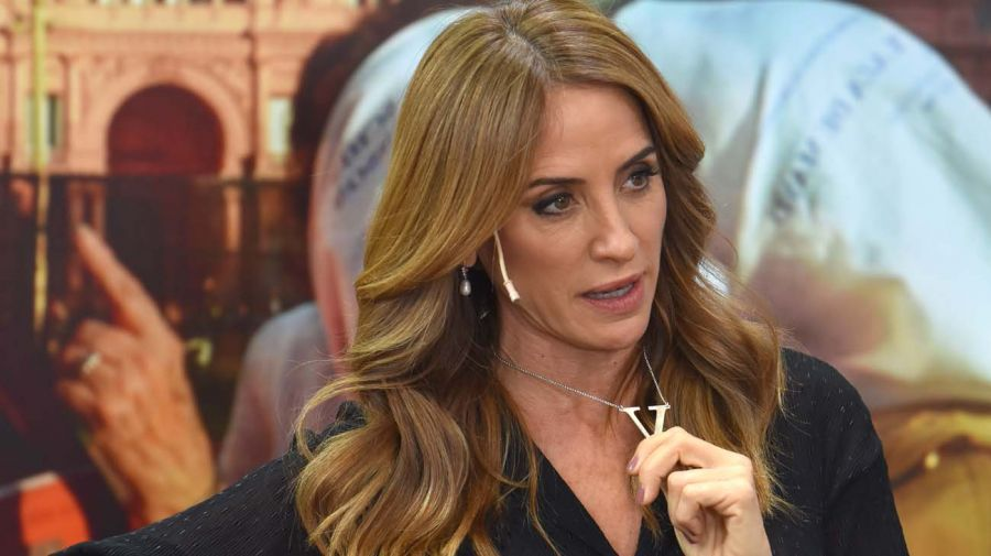 Victoria Tolosa Paz, en la entrevista con Jorge Fontevecchia.
