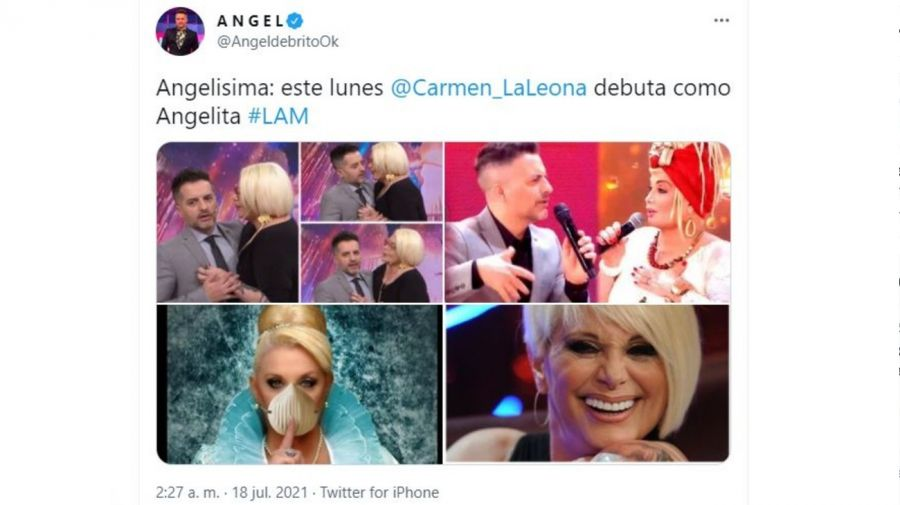 Carmen Barbieri angelita LAM
