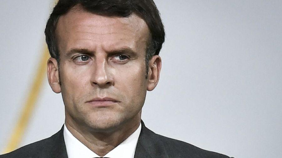 Macron Antivacunas