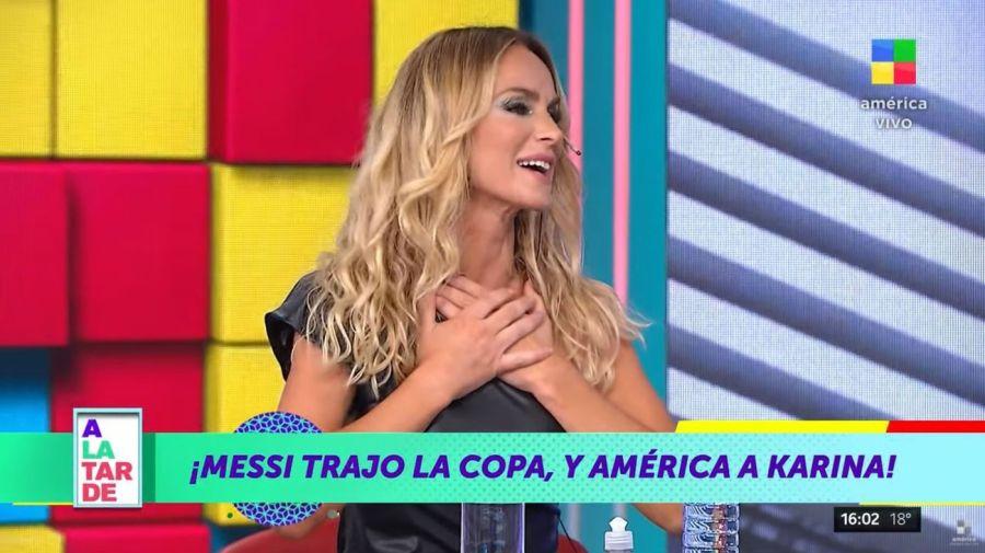 Sabrina Rojas en A la Tarde