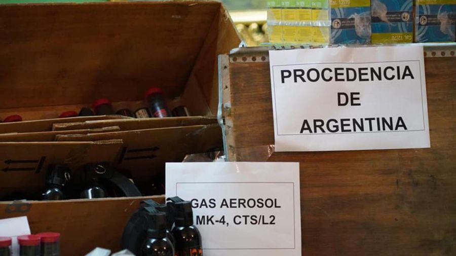 Venta de armas a Bolivia 20210719