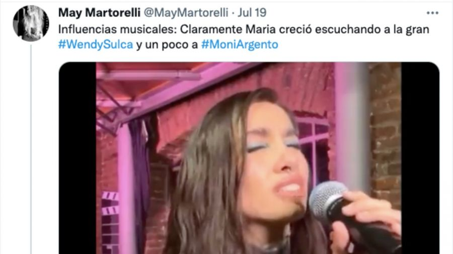 Compararon aMaríaBecerra con un personaje de Flor Peña y las redes estallaron