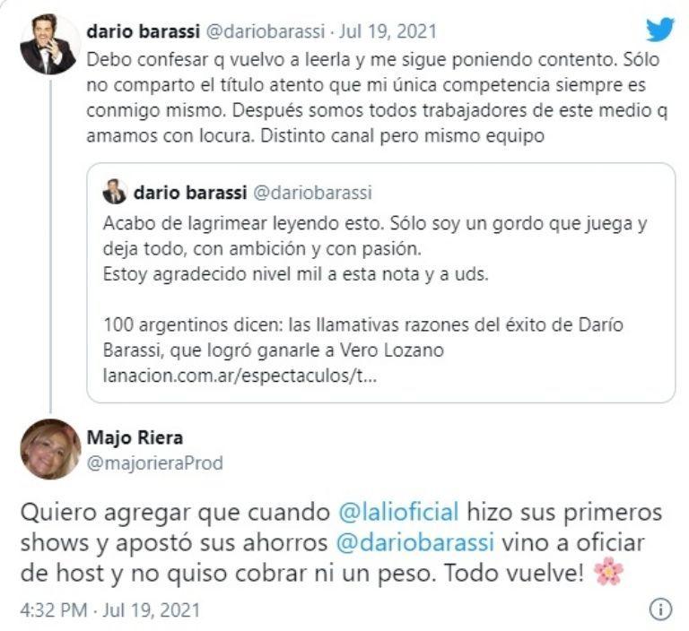 El gesto de Darío Barassi con Lali Espósito en los inicios de su carrera
