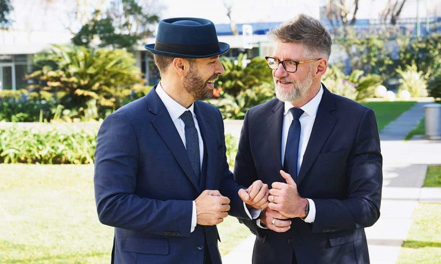 La exclusiva boda de Luis Novaresio