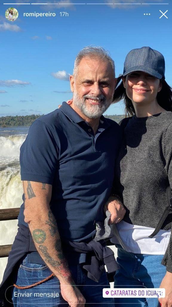 Las divertidas vacaciones de Jorge Rial y Romina Pereiro con la familia ensamblada