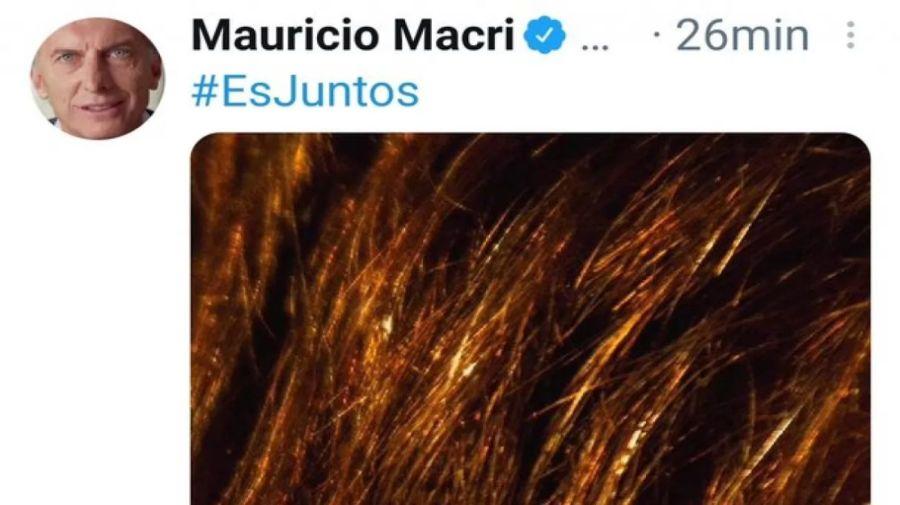 Macri apoyó a Santilli.