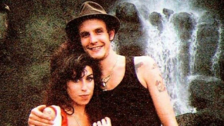 Amy junto a Blake, su marido entre 2007 y 2009