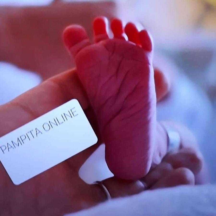 La foto de Ana, la hija de Pampita