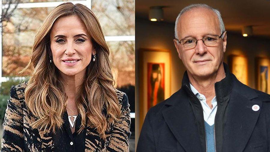 Victoria Tolosa Paz y Daniel Gollán, los candidatos del oficialismo en Provincia de Buenos Aires.