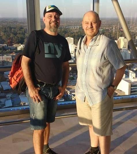 Conocé al marido del periodista Jorge Lafauci