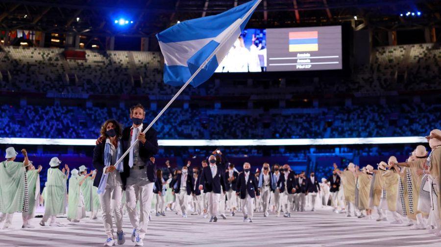 JJOO Tokyo 2020 Delegación Argentina 20210723