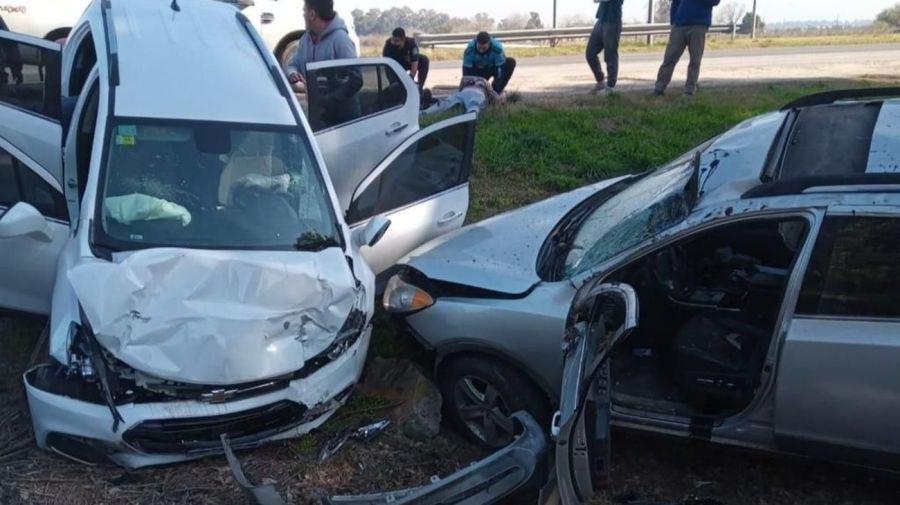 Rocio Quiroz accidente auto