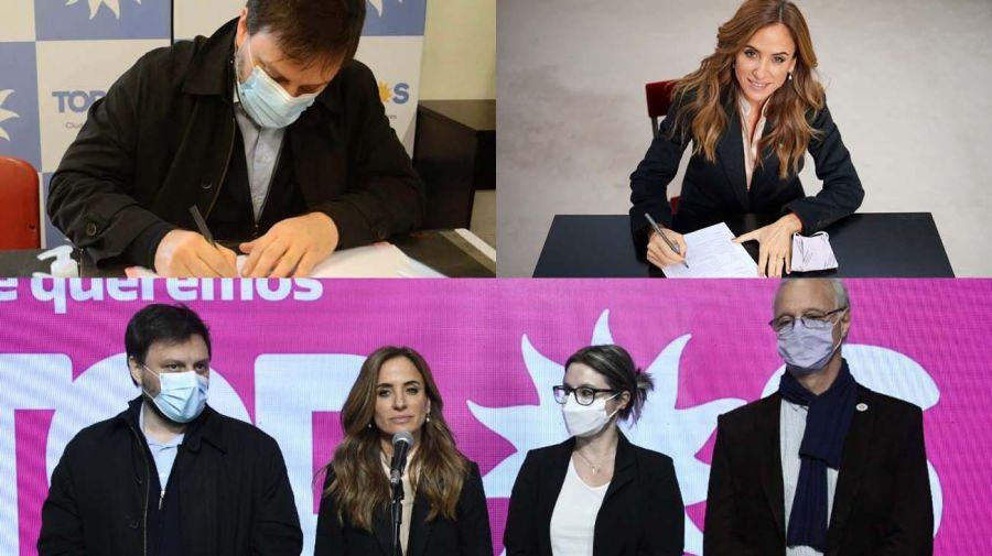 Definidas las listas, los candidatos del Frente de Todos ya están en campaña para las legislativas.