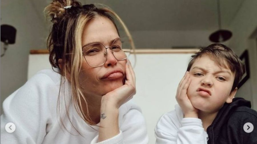 NazarenaVélezhabló sobre el problema de salud que tiene su hijo Thiago
