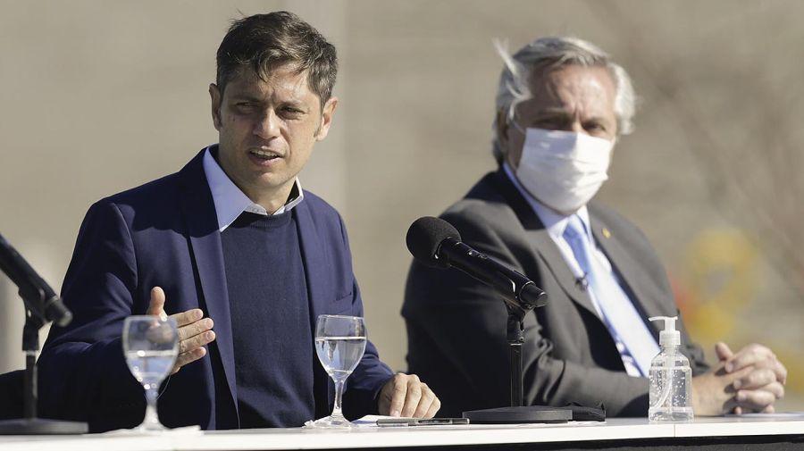 Alberto Fernández y Axel Kicillof 20210726