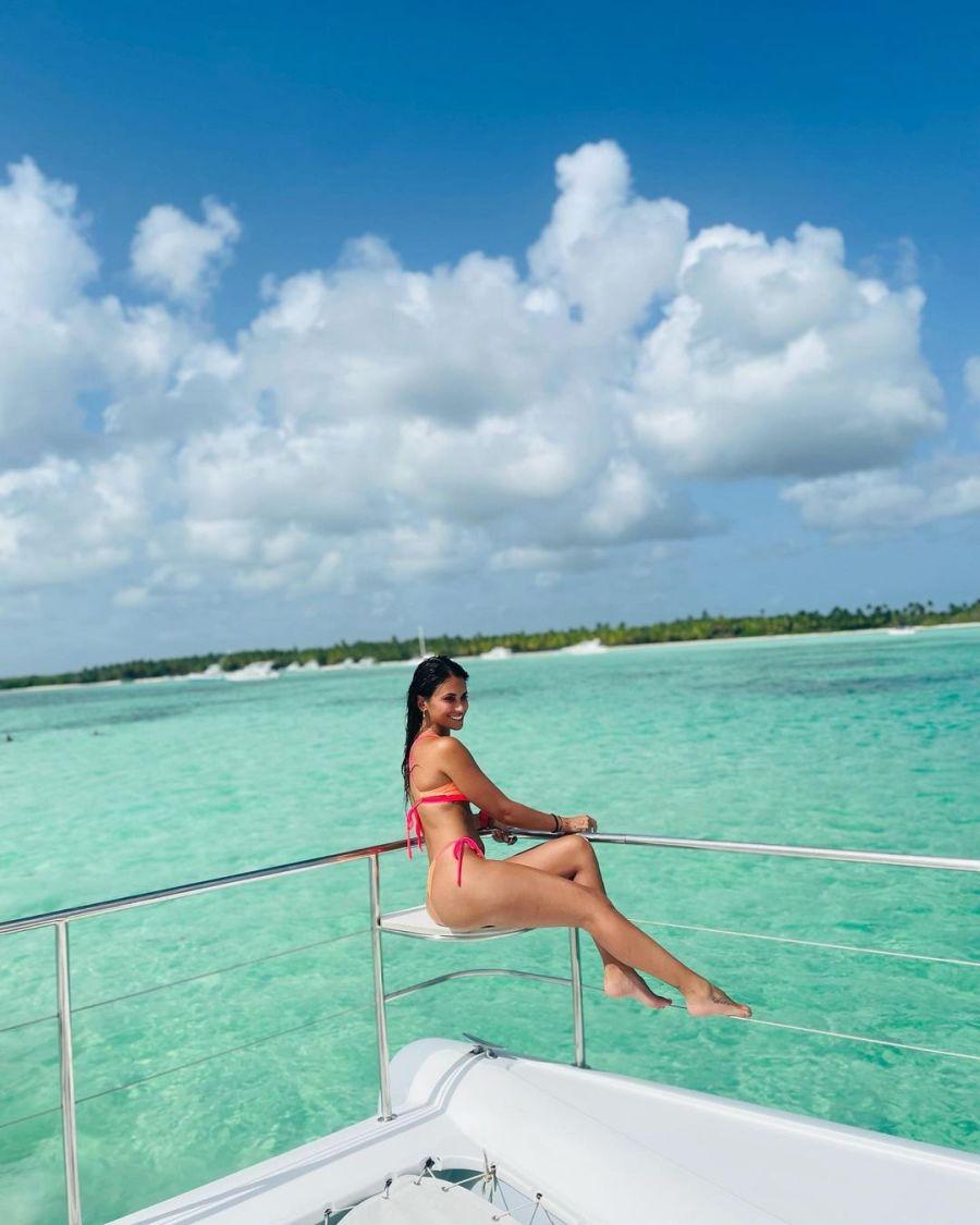 Antonela Roccuzzo mostró las fotos más hot de sus paradisíacas vacaciones