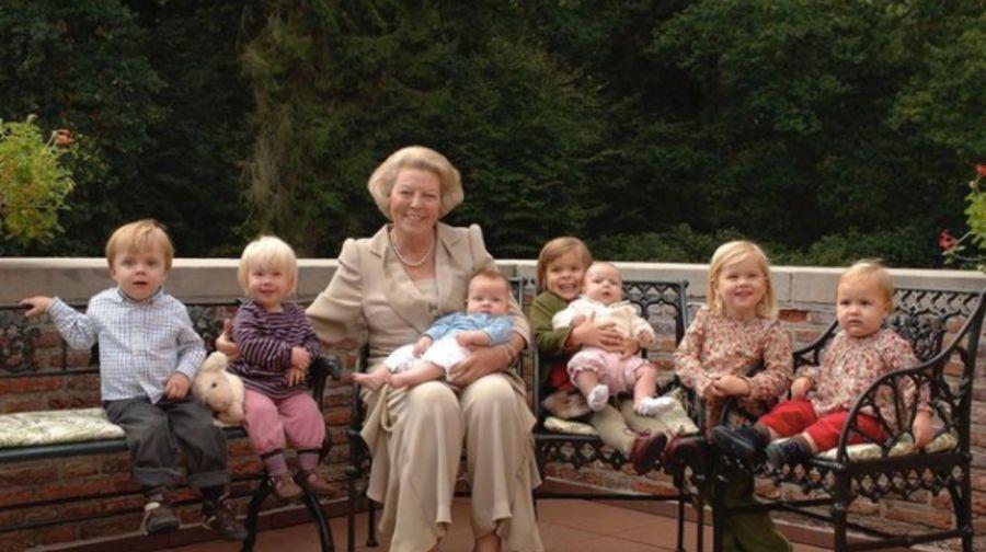 Día de los abuelos: Los miembros de la realeza no son la excepcióny se muestran con sus nietos