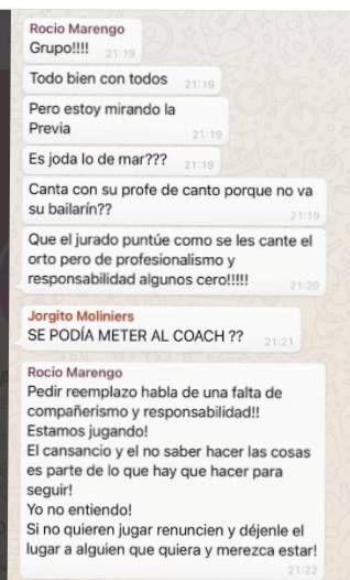 La Academia: Rocío Marengo disparó contra Mar Tarrés por cantar con su coach