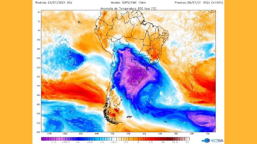 Ola de frío polar 20210726