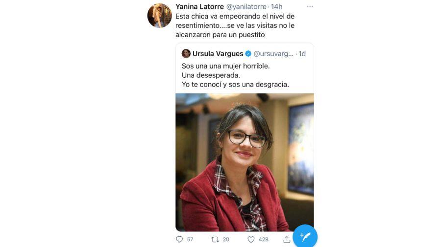 Tweets Latorre y Vargues 0726
