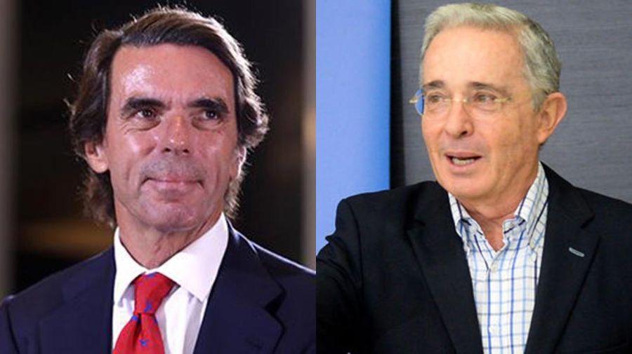 José María Aznar y Álvaro Uribe Vélez 20210727