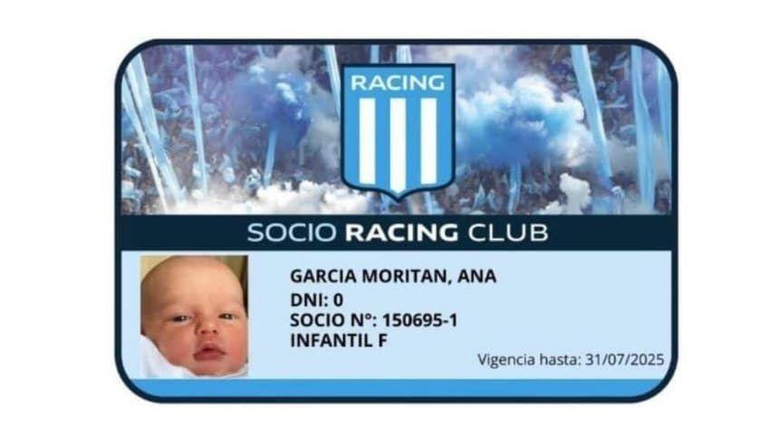 Ana García Moritán, la hija de Pampita, ya es hincha oficial de un club