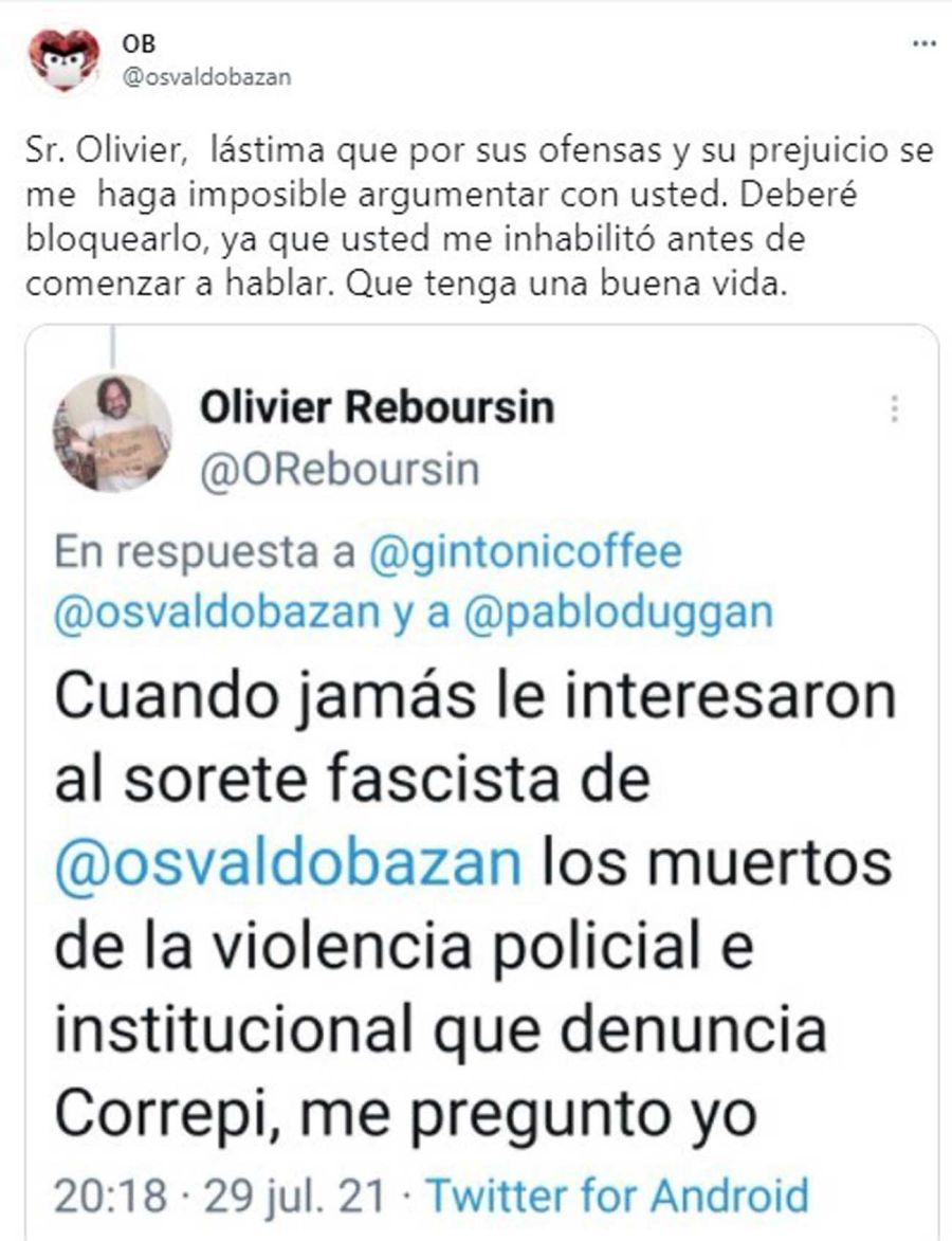 Osvaldo Bazán y Pablo Duggan 20210730