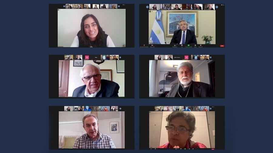 Reunión virtual del grupo de puebla 20210730