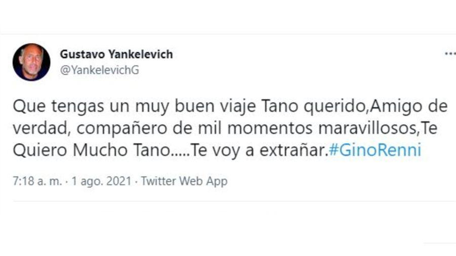 Muerte Gino Renni