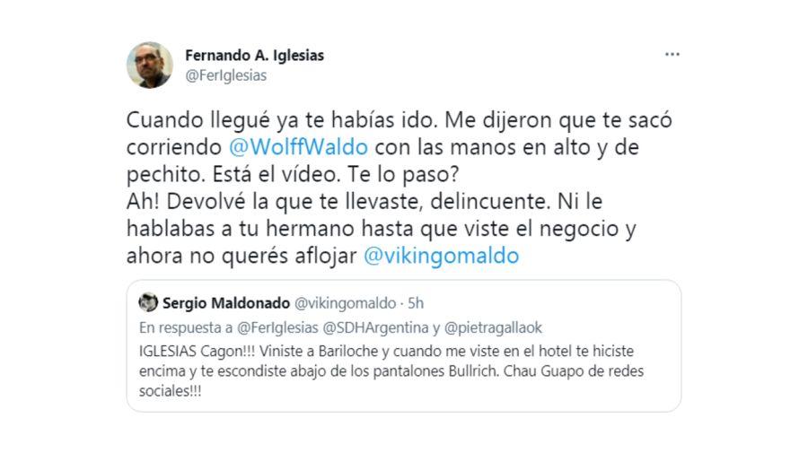 Iglesias Maldonado Tuit