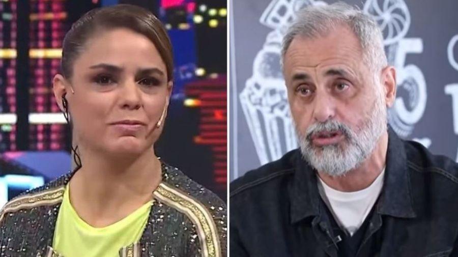 Marina Calabro y Jorge Rial