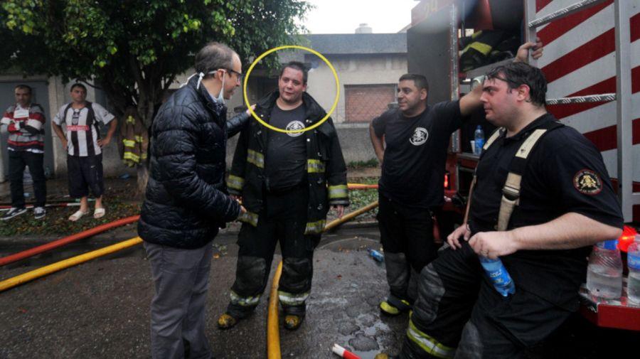 2021 03 08 Incendio Tragico Bomberos Tres de Febrero
