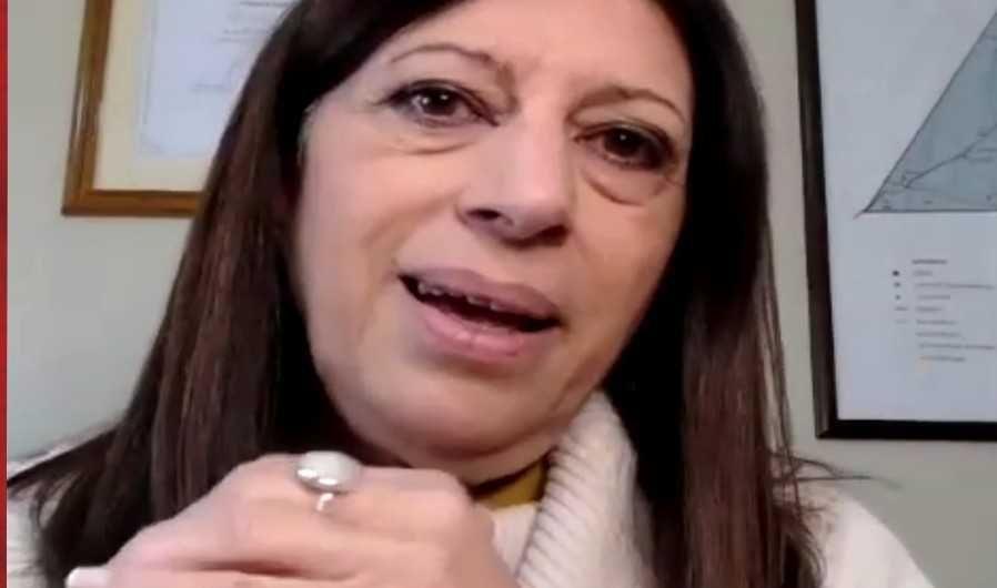 Clara García busca una banca en el Senado.