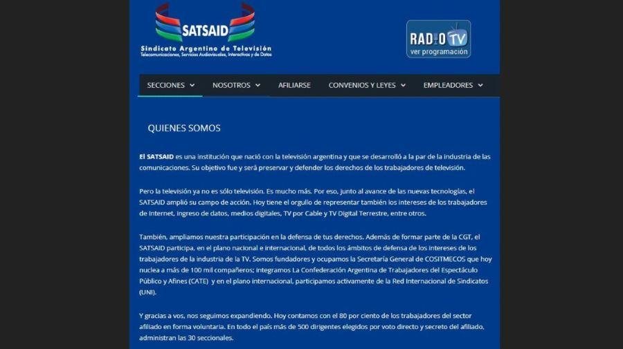 Comunicado del Satsaid apoyo a Florencia Pena