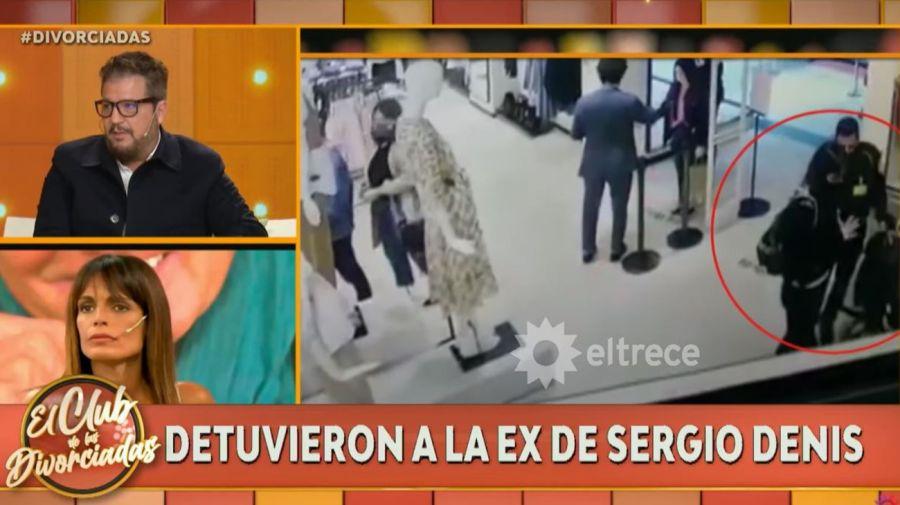 Detencion Veronica Monti en el shopping