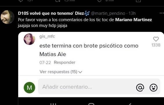 El video de Mariano Martínez que se convirtió en tendencia y recibió críticas