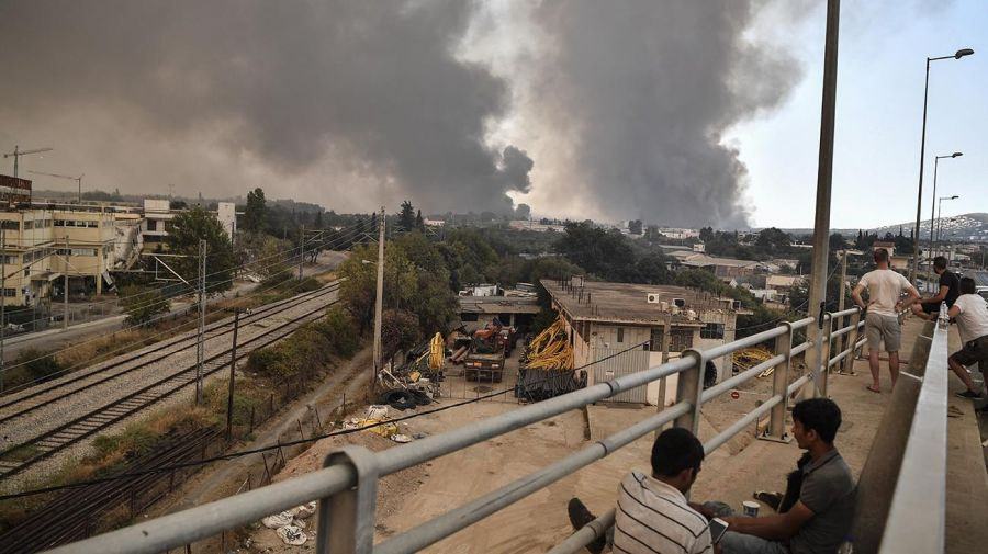 Incendios Grecia 20210803