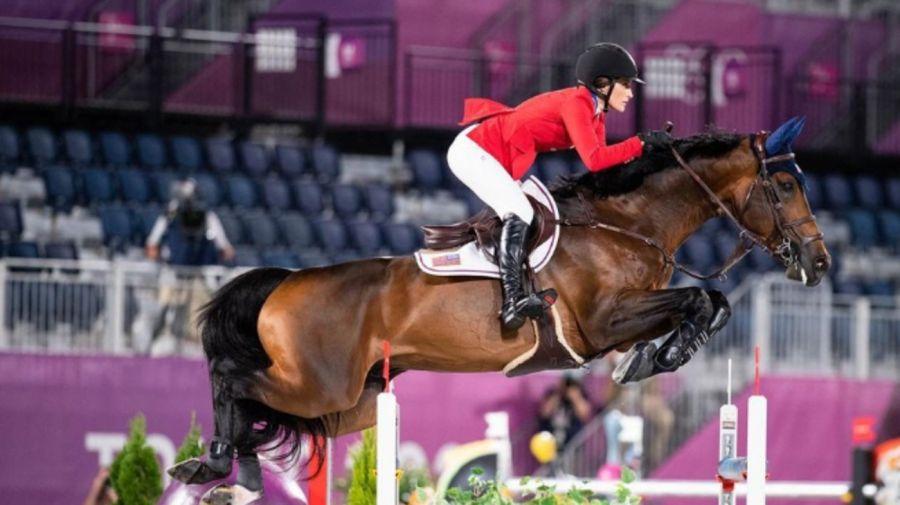 Jessica Springsteen hizo su debut olímpico