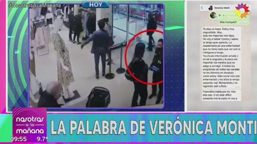 Mensaje Veronica Monti tras el robo