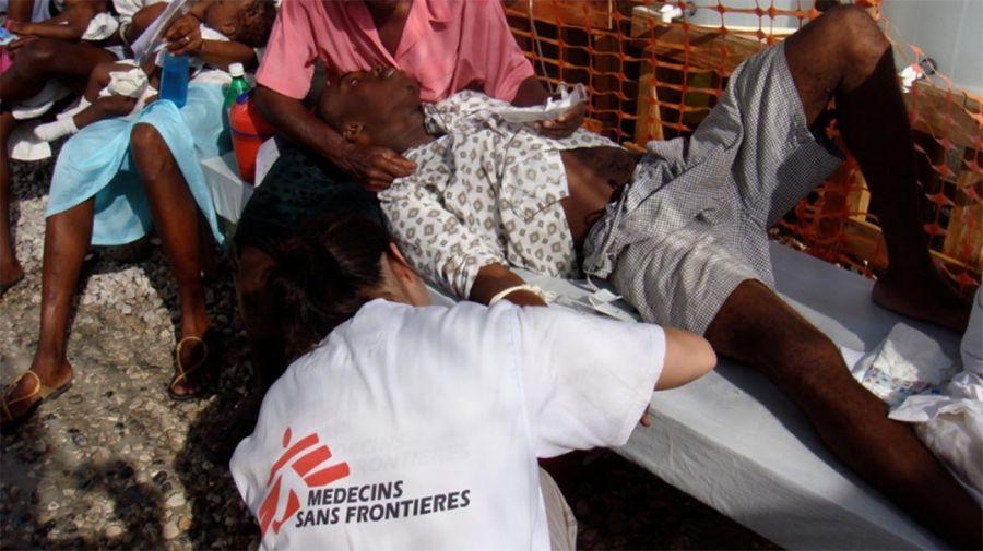 Médicos sin fronteras en Haití 20210804