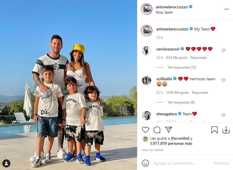 Messi se va del Barcelona: el contundente mensaje de Antonela Roccuzzo