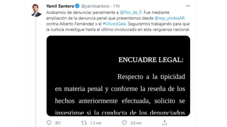 Santoro tweet 0805
