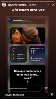 Daniel Oslvado desmintió estar en crisis con Gianinna Maradona con una tierna foto