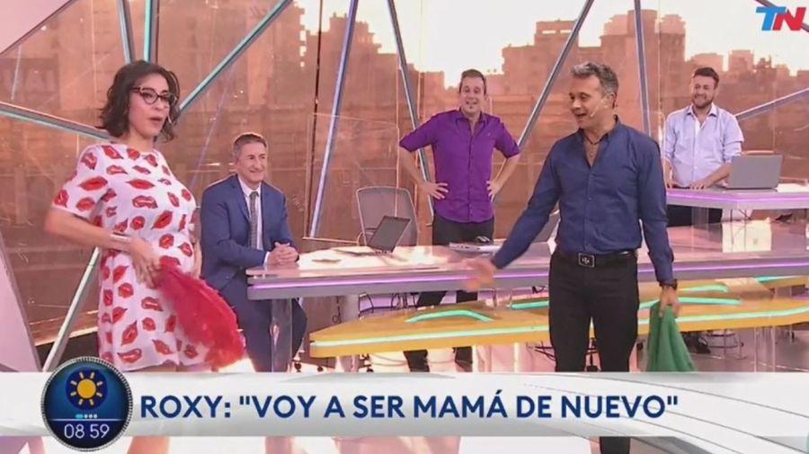 Roxy Vazquez embarazada