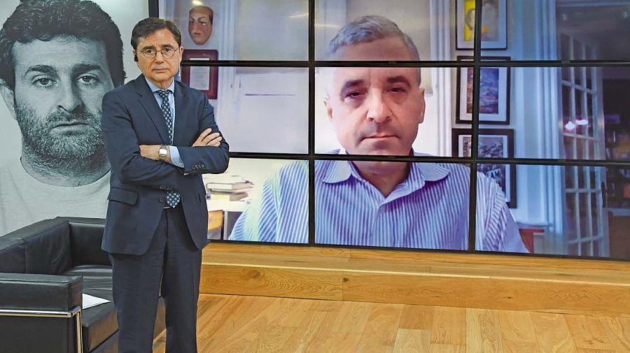 Steven Levitsky, en la entrevista con Jorge Fontevecchia.