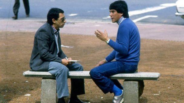 Carlos Irusta y Carlos Monzón