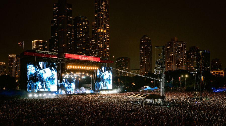 El Lollapalooza de Chicago tuvo 100 mil fans por día