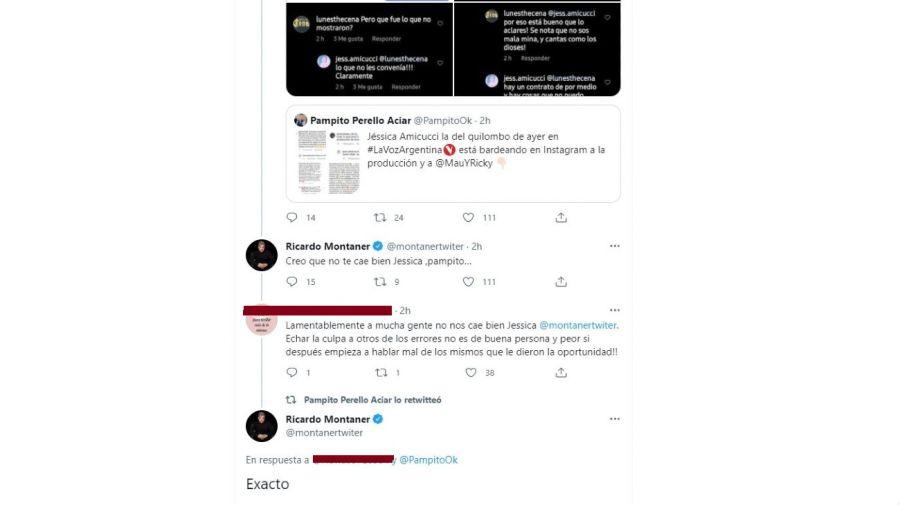 Respuesta de Ricardo Montaner a la denuncia de Jessica
