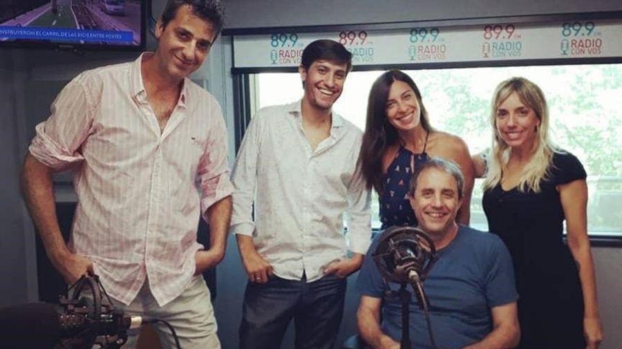 Tamara Pettinato en Radio Con Vos