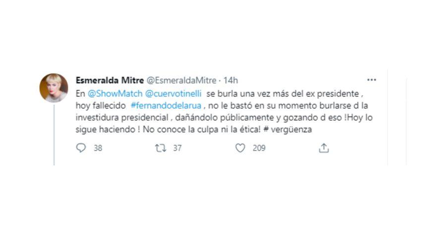 tweets Esmeralda 0807